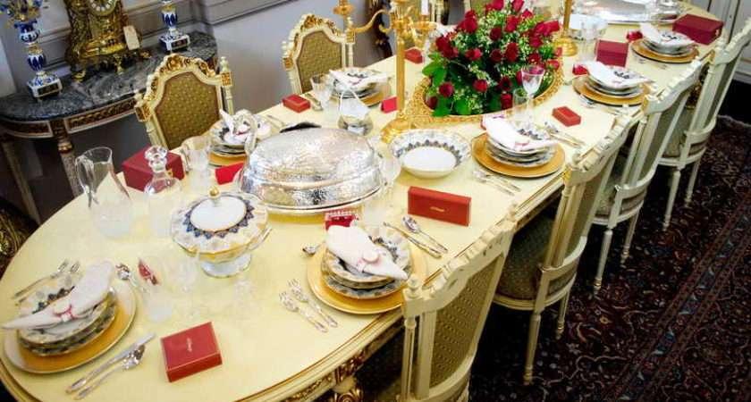 Furniture Italian Table Setting Ideas