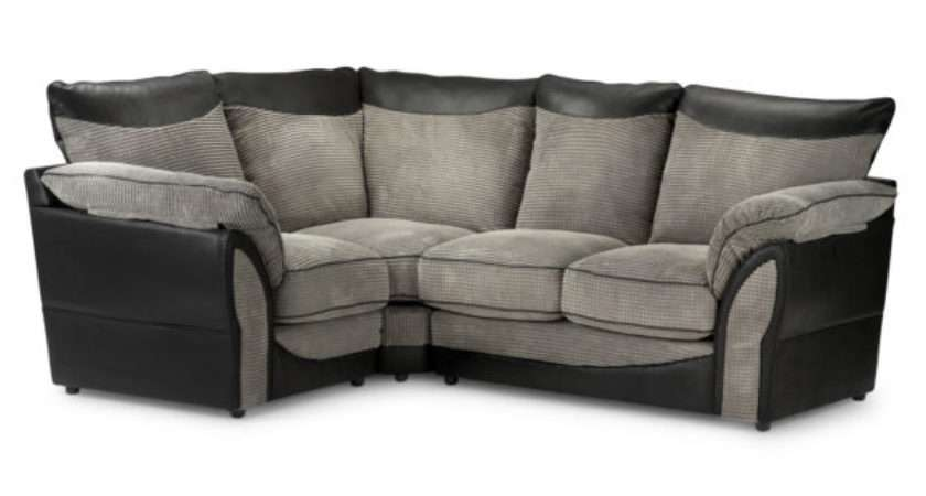 Furniture Luxurious Small Leather Shaped Tufted Couch