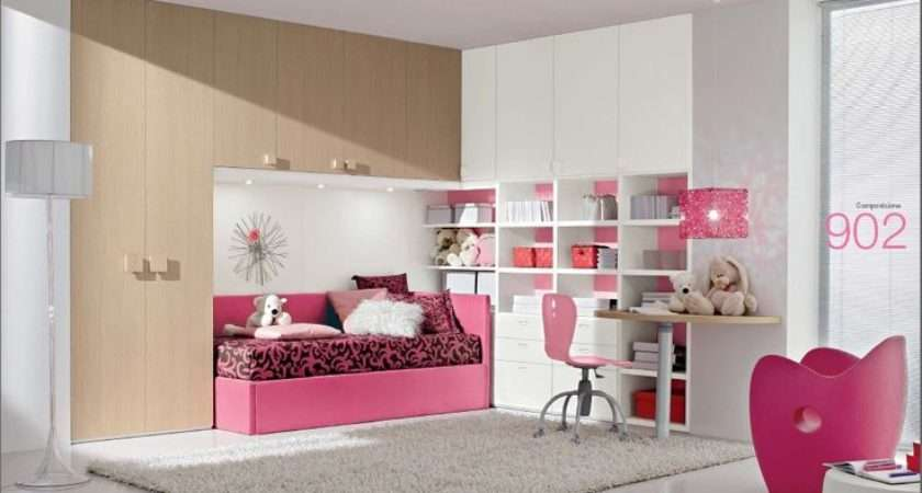 Furniture Rooms Colorful Girly White Based Kids