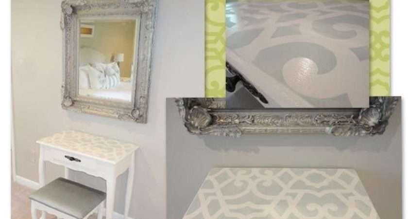Furniture Stencil Paint Ideas Table Tops Sheik