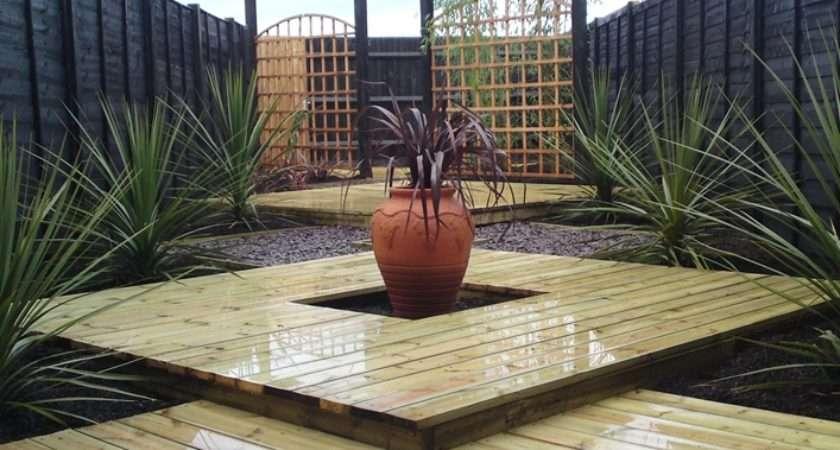 Garden Decking Ideas Most Pleasant Relaxing Environment