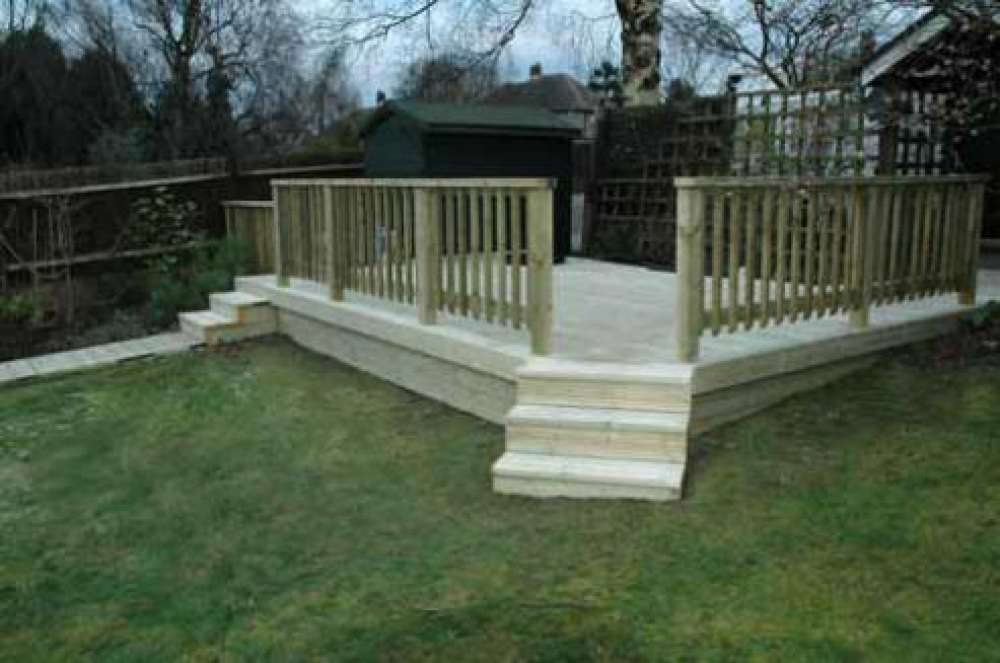Garden Decking Ideas Your Home Raised