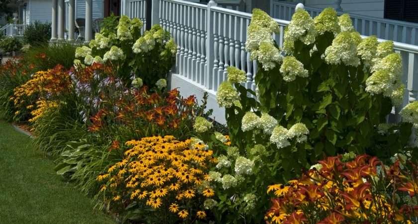 Дизайн цветников в саду