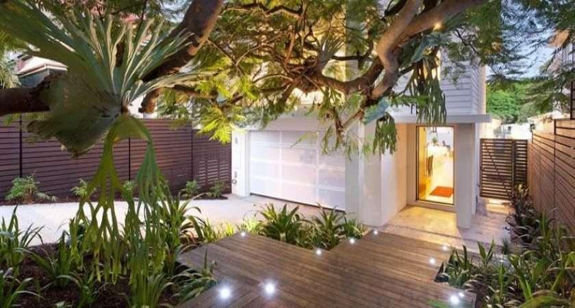 Garden Design Using Timber Deck Decorative Lighting Gardens