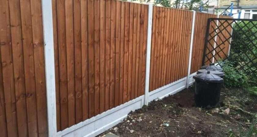 Garden Fencing Ideas Cedar Slatted Fence