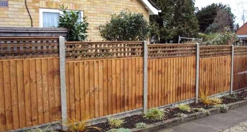 Garden Fencing Ideas Fence Paint Kiepkiep Club
