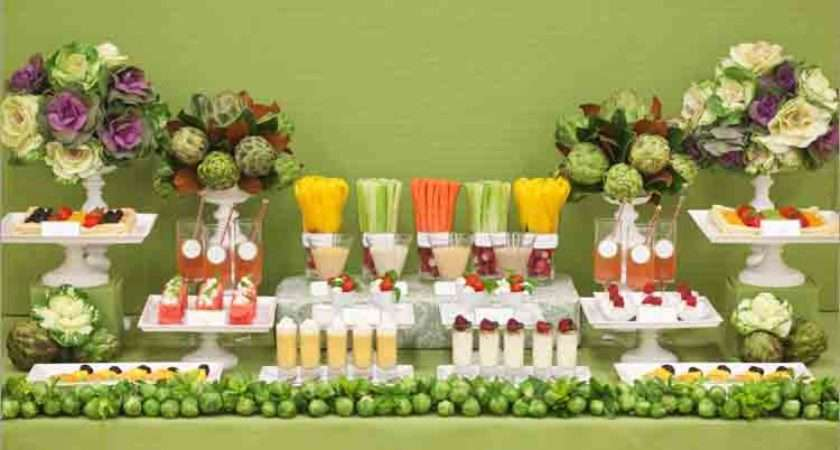 Garden Party Ideas Professional Planner Table