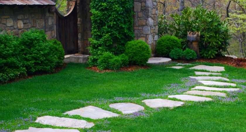 Garden Pathways Walkways Diy Shed