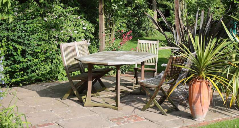 Garden Patio Ideas Uses Shapes Sizes Materials