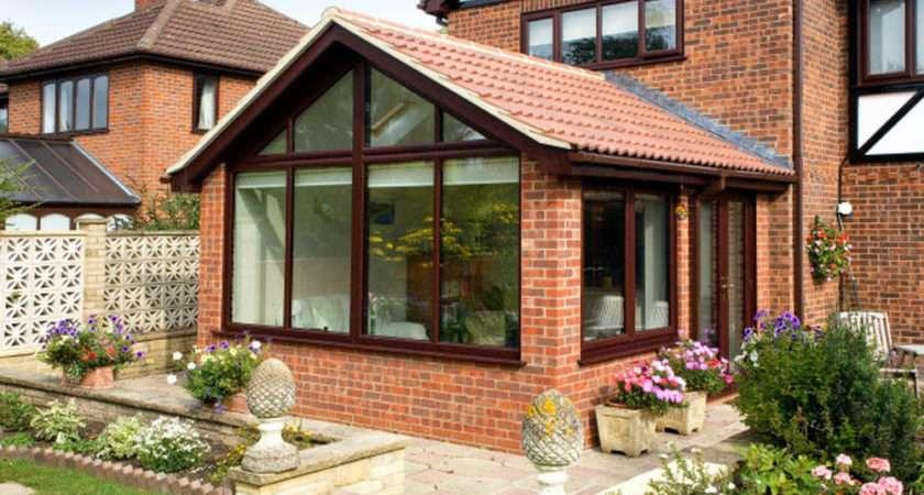 Garden Room Extension Glazed Gable