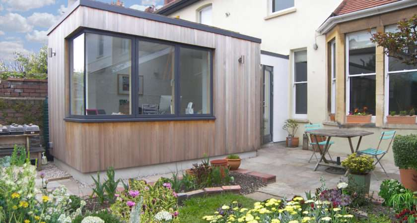 Garden Room Writer Contemporary Extension
