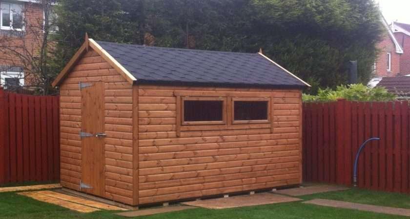 Garden Sheds Timber Birthplace British
