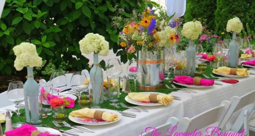 Garden Themed Party Tablescape Hometalk