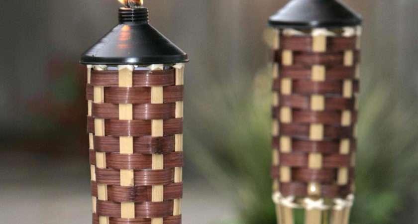 Garden Torch Flame Tiki Zener Diy