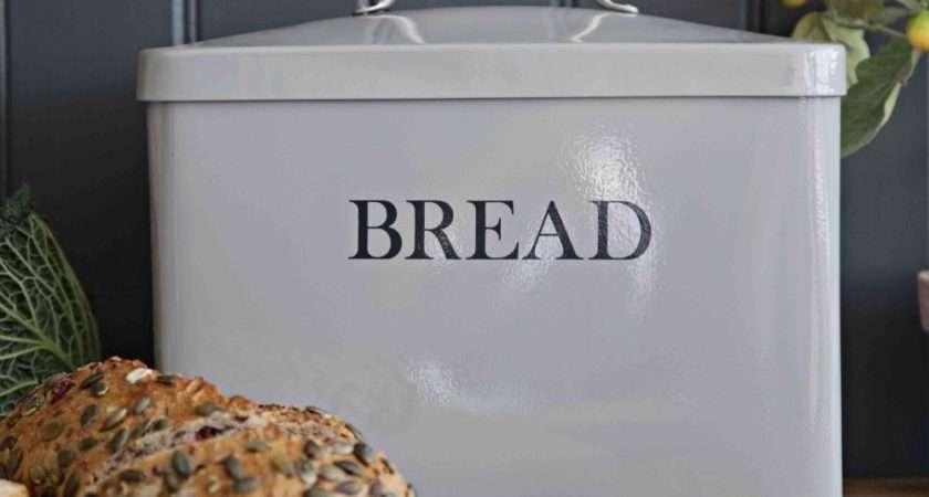 Garden Trading Bread Bin Flint