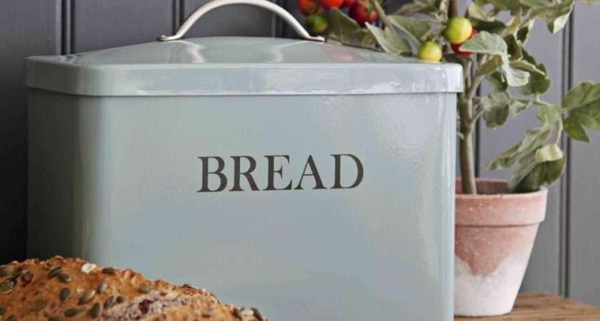Garden Trading Bread Bin Shutter Blue
