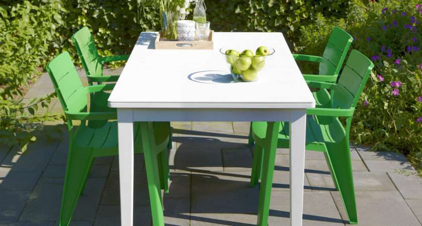 Gardens Homes Direct Allibert White Futura Dining Table