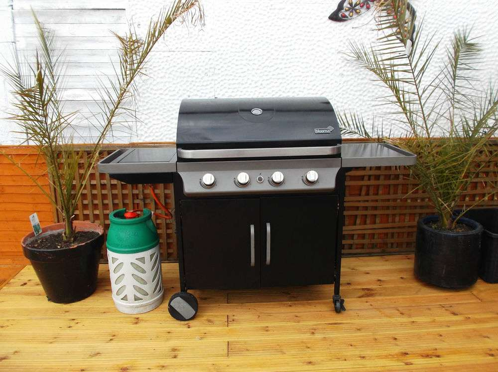 Gas Barbecue Blooma Laguna Posot Class