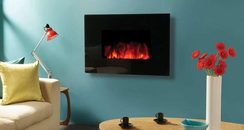 Gazco Studio Electric Glass Wall Mounted Fire Canterbury