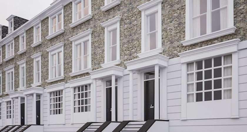 Georgian Terrace Residential Houses Model