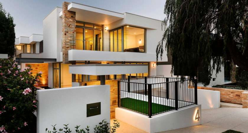 Geraldine Street Cottesloe Modern Private House Upon
