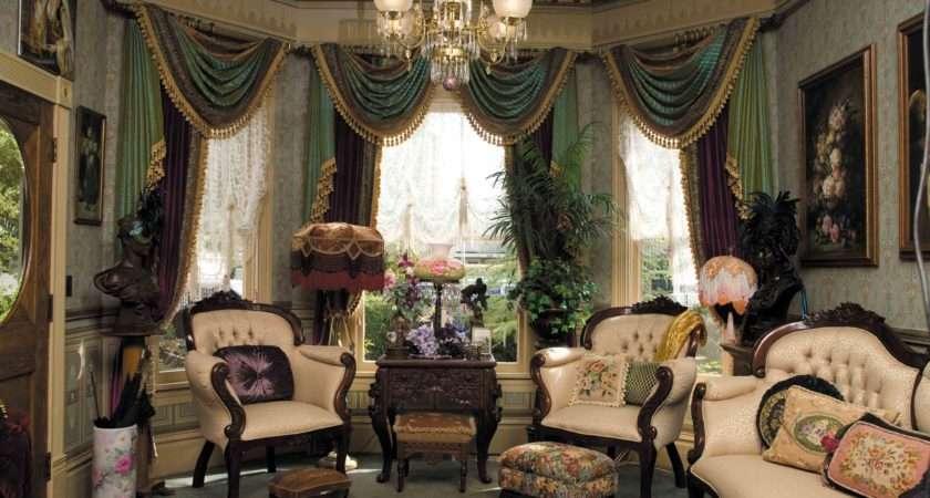 Get Dramatic Color Victorian Way