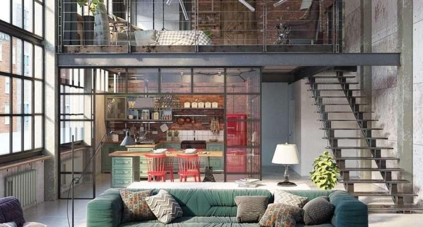 Get Industrial Loft Design Now