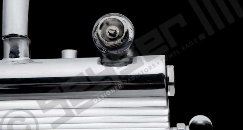 Geyser Circolo Cromo Shiny Chrome Designer Radiator