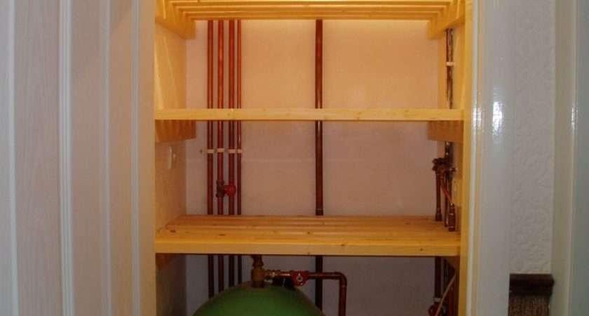 Geyser Cupboard Boiler Airing