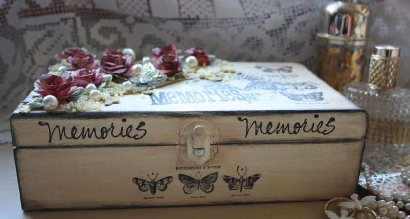 Gingerbits Wedding Memory Box Unruly Paperarts