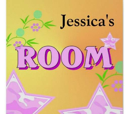 Girl Bedroom Design Posters Zazzle