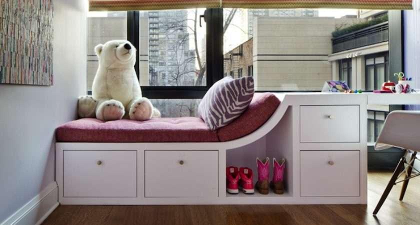 Girl Built Desk Contemporary Room Grade Architecture