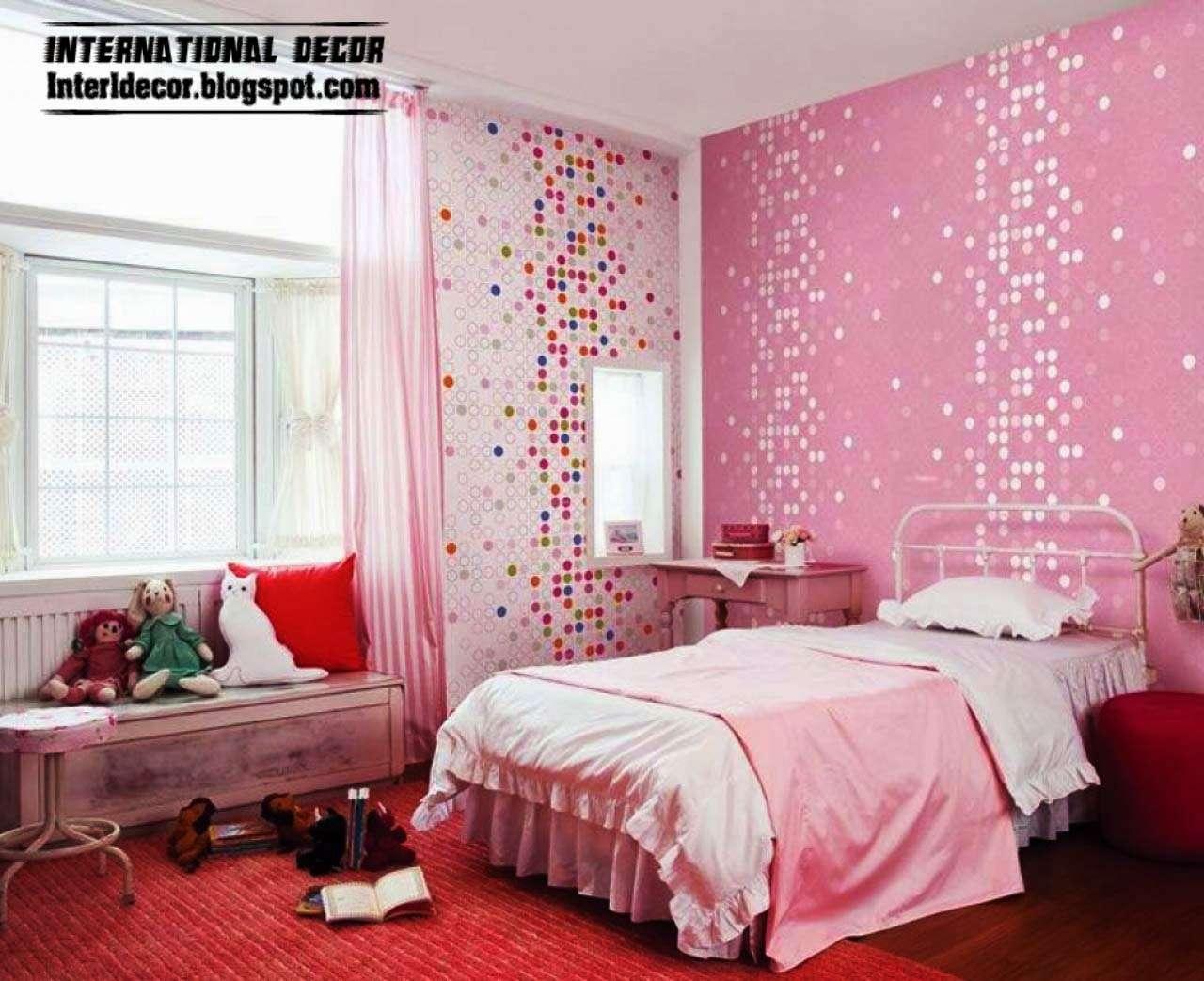 Girls Bedroom Ideas Modern Room Pink Luxury