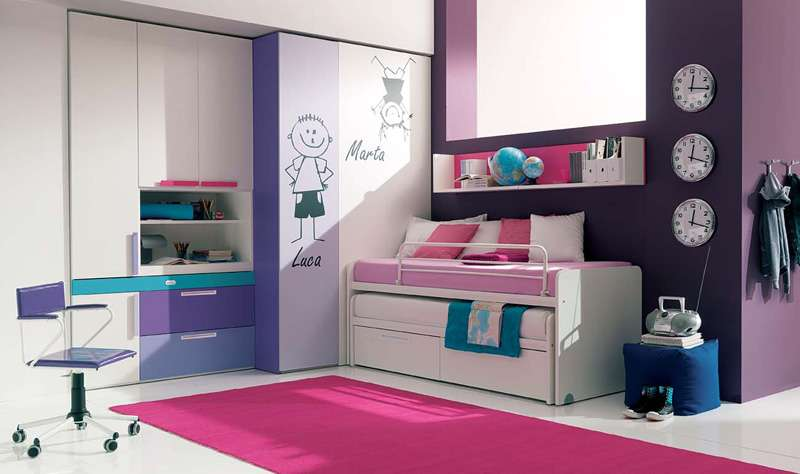 Girls Room Design Ideas Teenage Bedroom