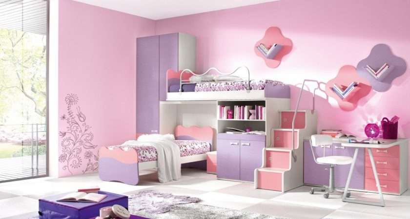Girls Room Paint Ideas Flowers
