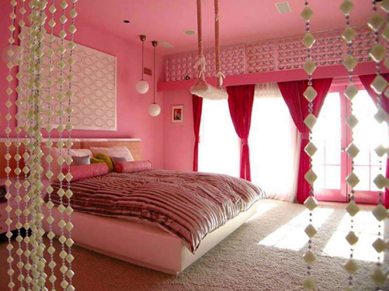 Girly Bedroom Stylish Ideas Girls Rooms Painting