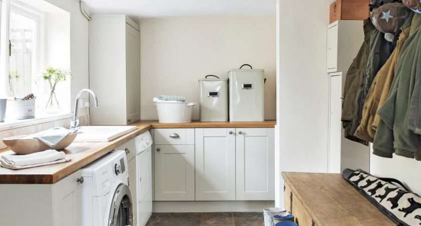 Give Your Utility Room Scullery Chic Makeover