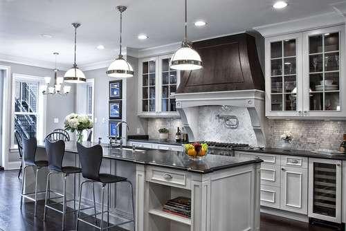 Glamorous Gray Kitchens Tidbits Twine