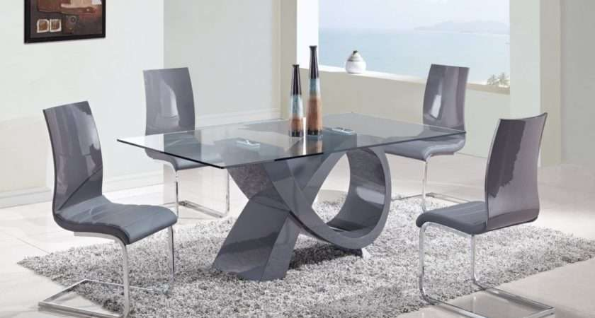 Glass Dining Room Table Chairs Archives Kitchen Furniture
