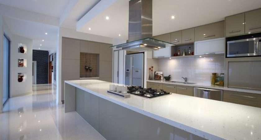 Glass Kitchen Design Australian Home