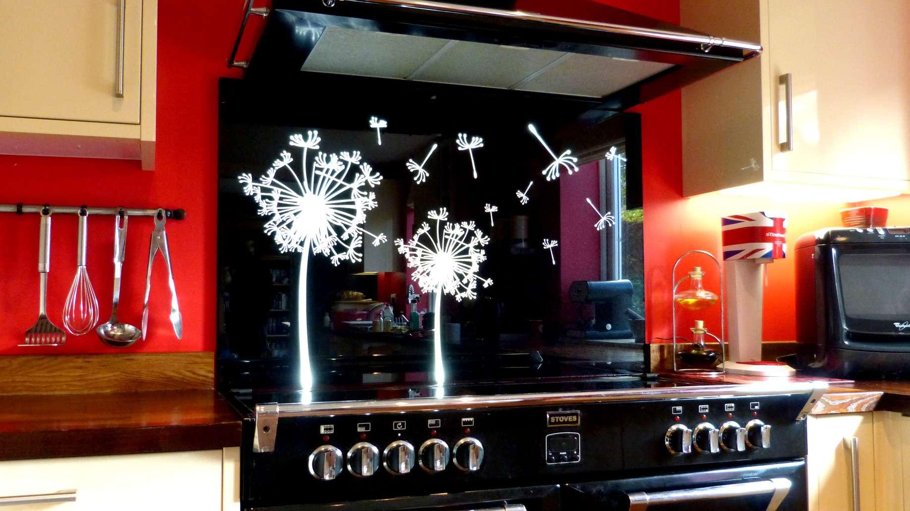 Glass Splashbacks Range Cooker Splashback Led