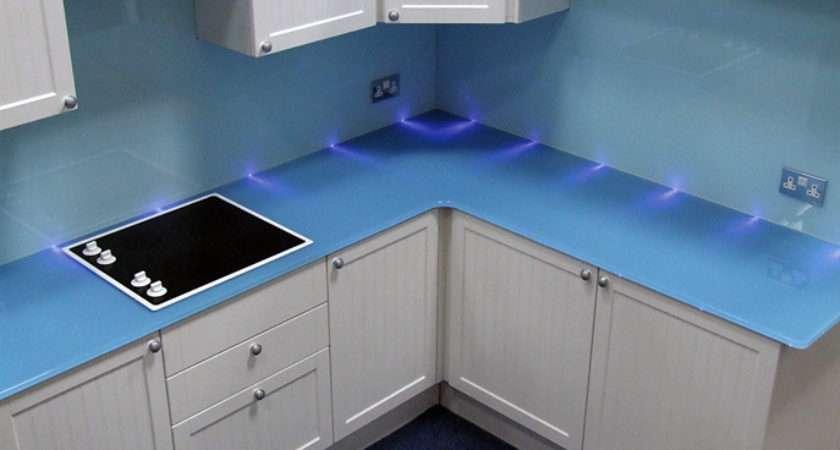 Glass Worktops Kitchen Glassact
