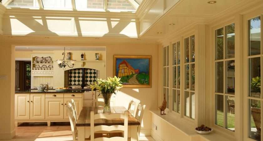 Glazed Kitchen Extensions Oak Hardwood David Salisbury