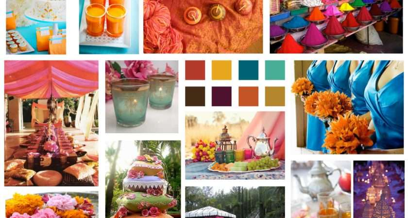 Global Inspiration Board Moroccan Color Scheme Bold Home