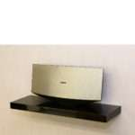 Gloss Black Floating Shelf Mastershelf