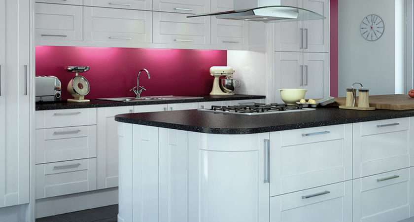 Gloss Kitchens High Kitchen Cabinets Units Magnet