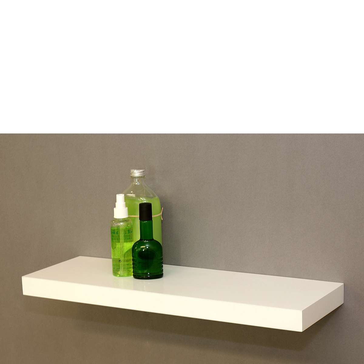 Gloss White Floating Shelf Mastershelf