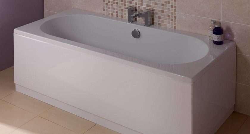 Gloss White Wooden Bath Side Panel Victoriaplum
