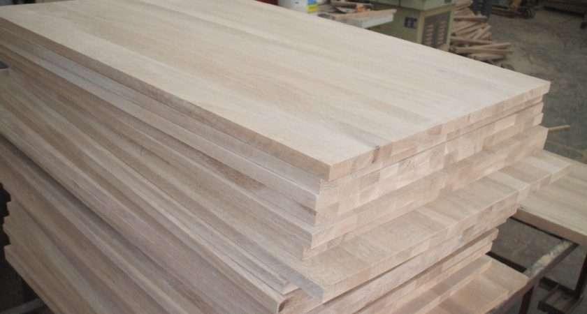 Glued Oak Worktops Sanded Kitchen China Mainland