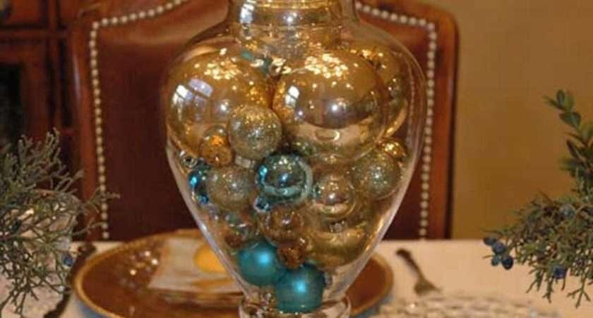 Gold Christmas Decoration Ideas Celebration